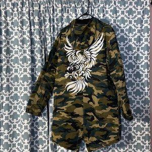 Guess Jackets & Coats - Guess Army Fatigue Jacket
